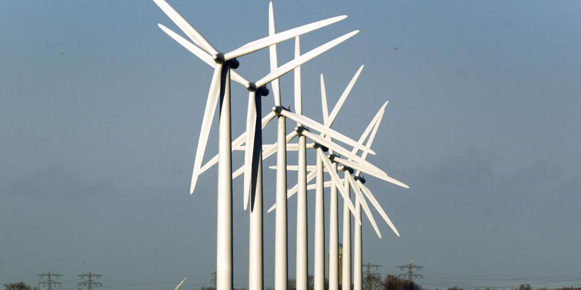 Windenergie bespaart CO2-emissie