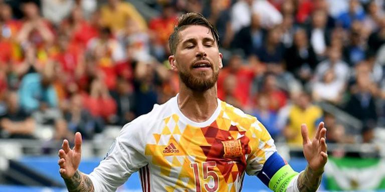 Absentie Casillas bij Spanje verrast Ramos
