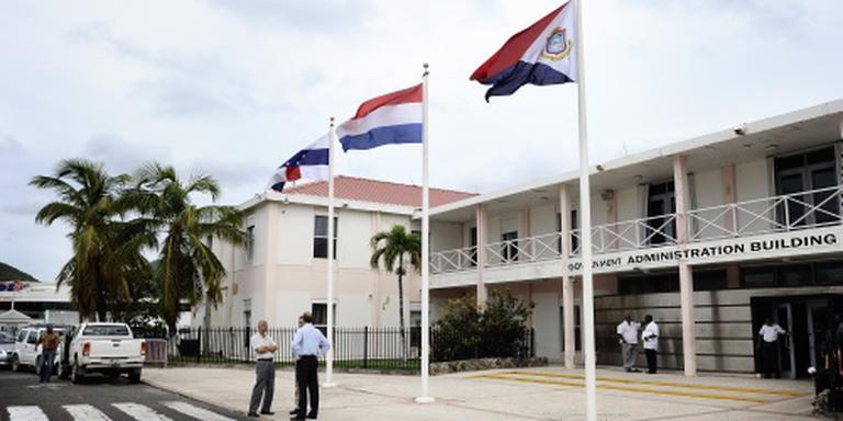 Politicus aangehouden op Sint Maarten