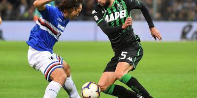 Sampdoria en Sassuolo scoren niet