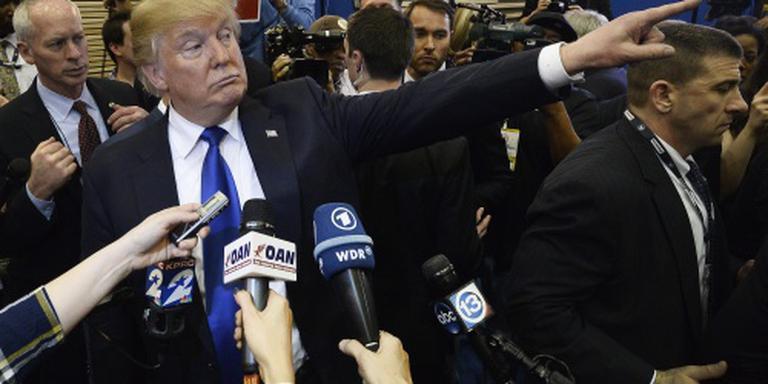 Trump: rel om KKK kwam door slecht oortje