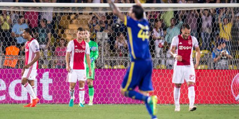 Ajax na wanprestatie uit Champions League