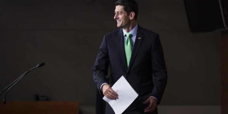 Republikein Ryan nog niet klaar voor Trump
