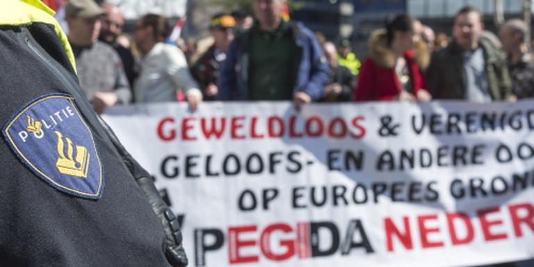 54 aanhoudingen bij demonstratie Pegida
