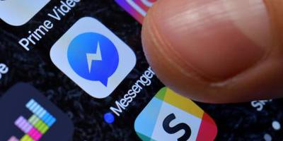 Versimpelde versie Messenger aanstaande