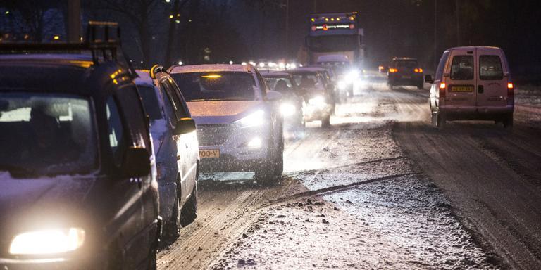 Remweg is bij sneeuw vijf keer langer