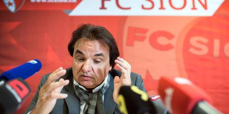 FC Sion verbannen uit Europa