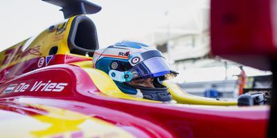 Nyck de Vries. FOTO FIA F2