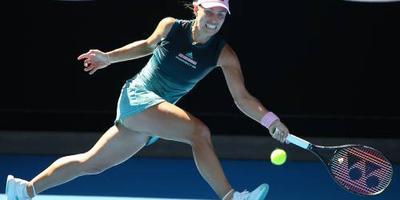 Kerber uitgeschakeld op Australian Open