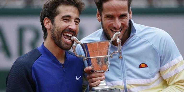 Eerste grandslam Spaanse dubbelaars Lopez