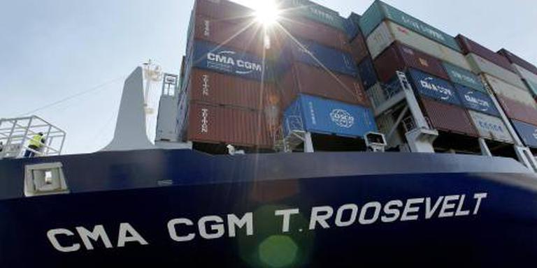 Franse containergigant stopt in Iran