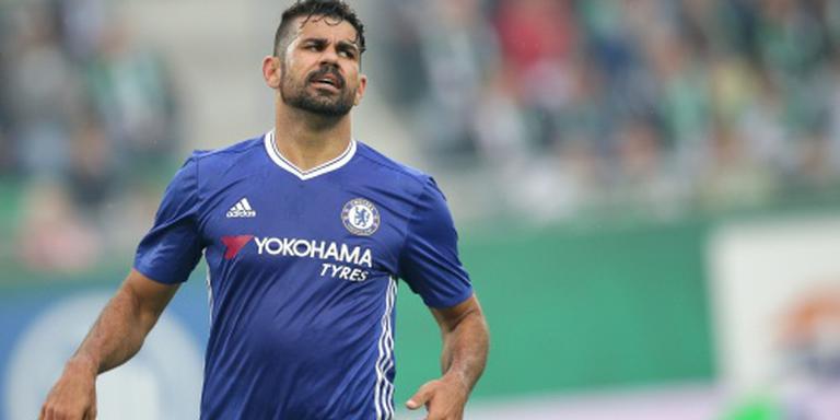 Costa zorgt ook bij debuut Conte voor ophef