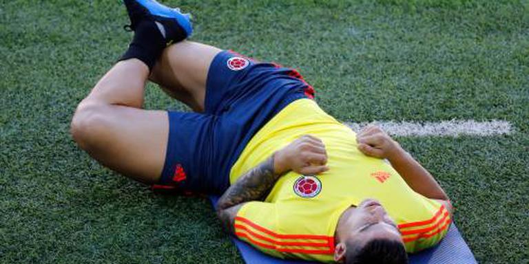 Colombia blijft hopen op James
