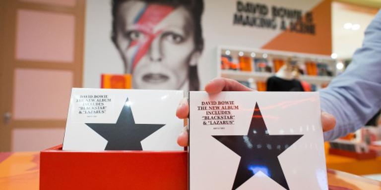 'Verkoop nieuwe cd Bowie verdrievoudigd'