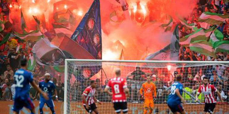 PSV: experiment met fans evalueren