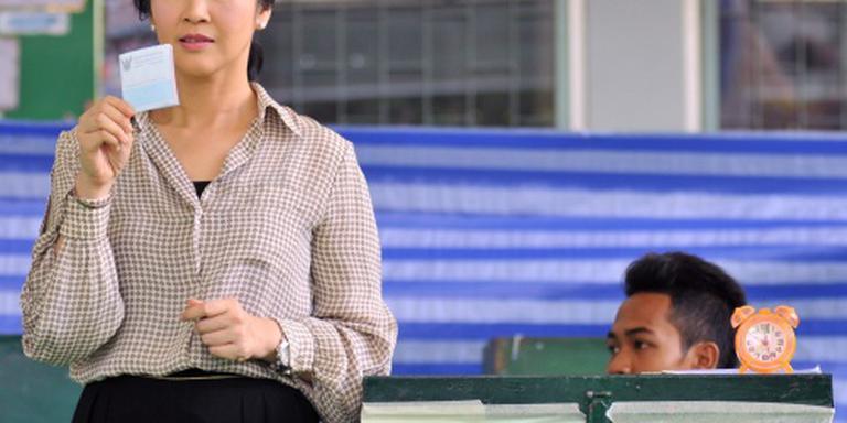 Kiesraad: Thai stemmen in met grondwet junta