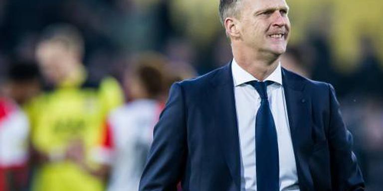 Van den Brom: strafschop tegen was mokerslag
