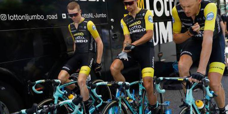 Wielrenners LottoNL-Jumbo langer op Bianchi