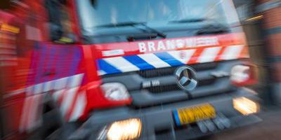 Huizen ontruimd na woningbrand Rotterdam