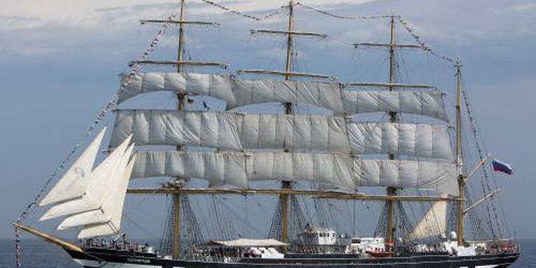 Russische tall ships niet naar Harlingen