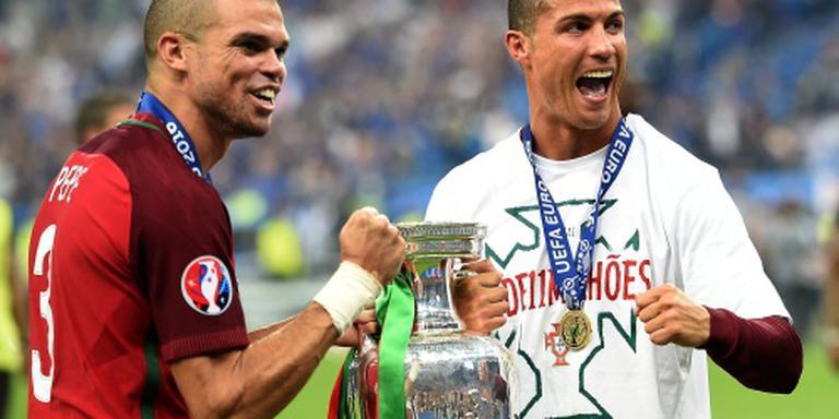 Ronaldo en Pepe in race voor UEFA-trofee