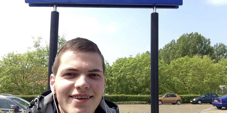 Student Daniël de Ruig reisde naar alle treinstations van Nederland.