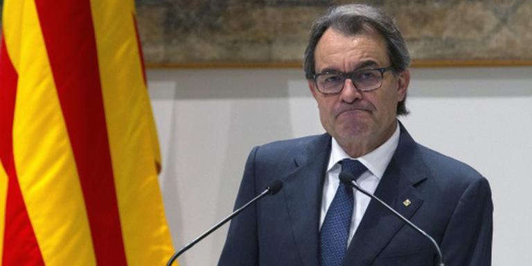Catalaanse regiopresident Mas treedt af