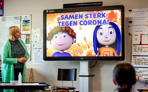 Scholen in Drenthe en Groningen moeten zich aan vier coronaregels houden. Een goede ventilatie is volgens het RIVM cruciaal in de strijd tegen verspreiding van virus