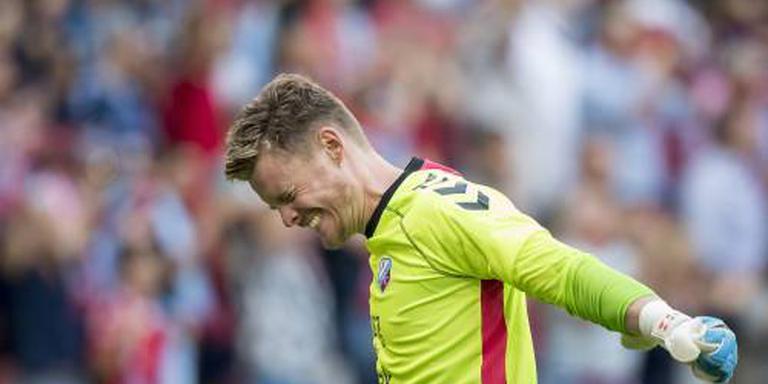 Doelman Jensen twee jaar langer bij FC Utrecht