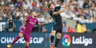 Manchester City zet Real Madrid te kijk