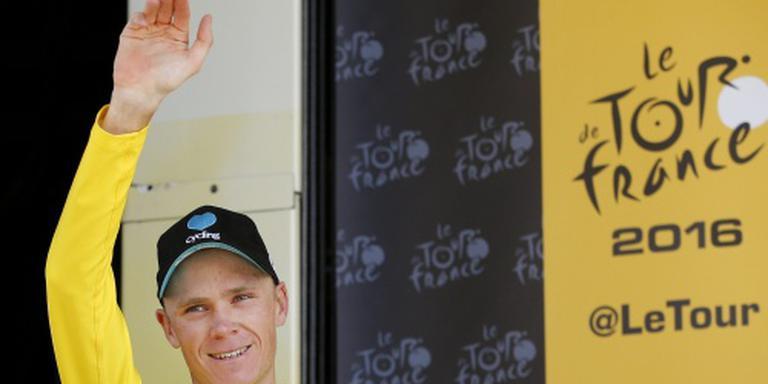 Lastige klimtijdrit in Tour de France