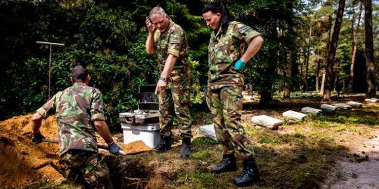 Zoekactie naar resten oorlogsvlieger
