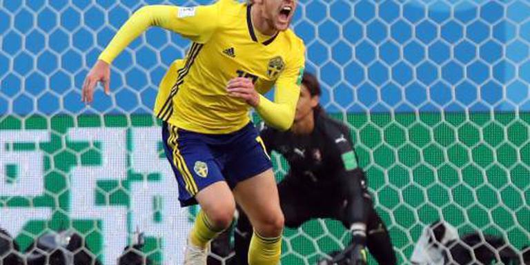 Bij Zweden telt alleen het team