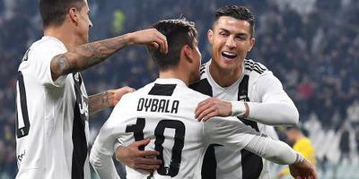 Juventus rekent simpel af met Frosinone