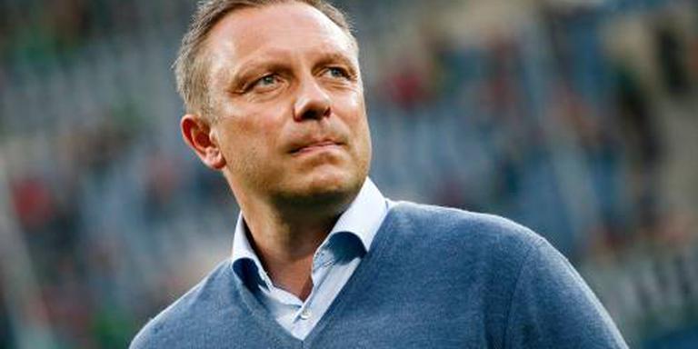 Hannover bouwt op trainer Breitenreiter