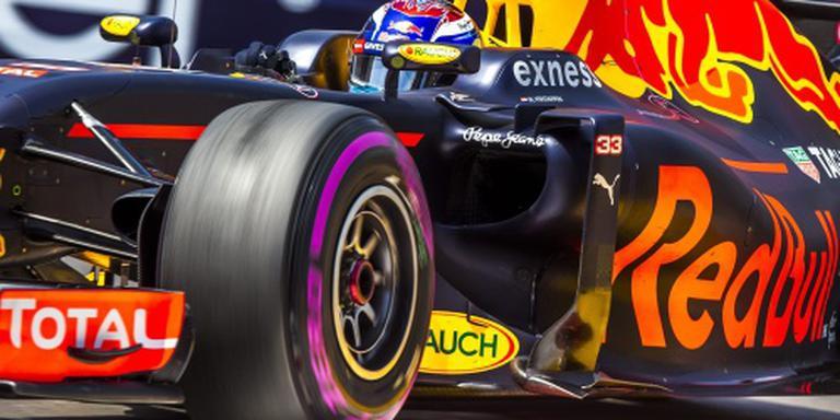 Verstappen vijfde in laatste training Monaco