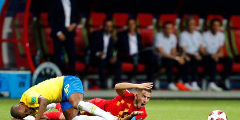België overmeestert Brazilië op WK