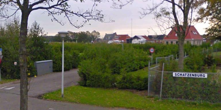 Het park aan de Rypsterdyk in Menaam.