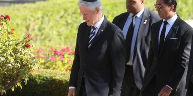 Shimon Peres bijgezet op Herzlberg
