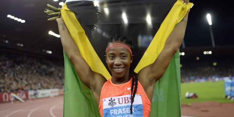 Rivale Dafne Schippers draagt vlag Jamaica