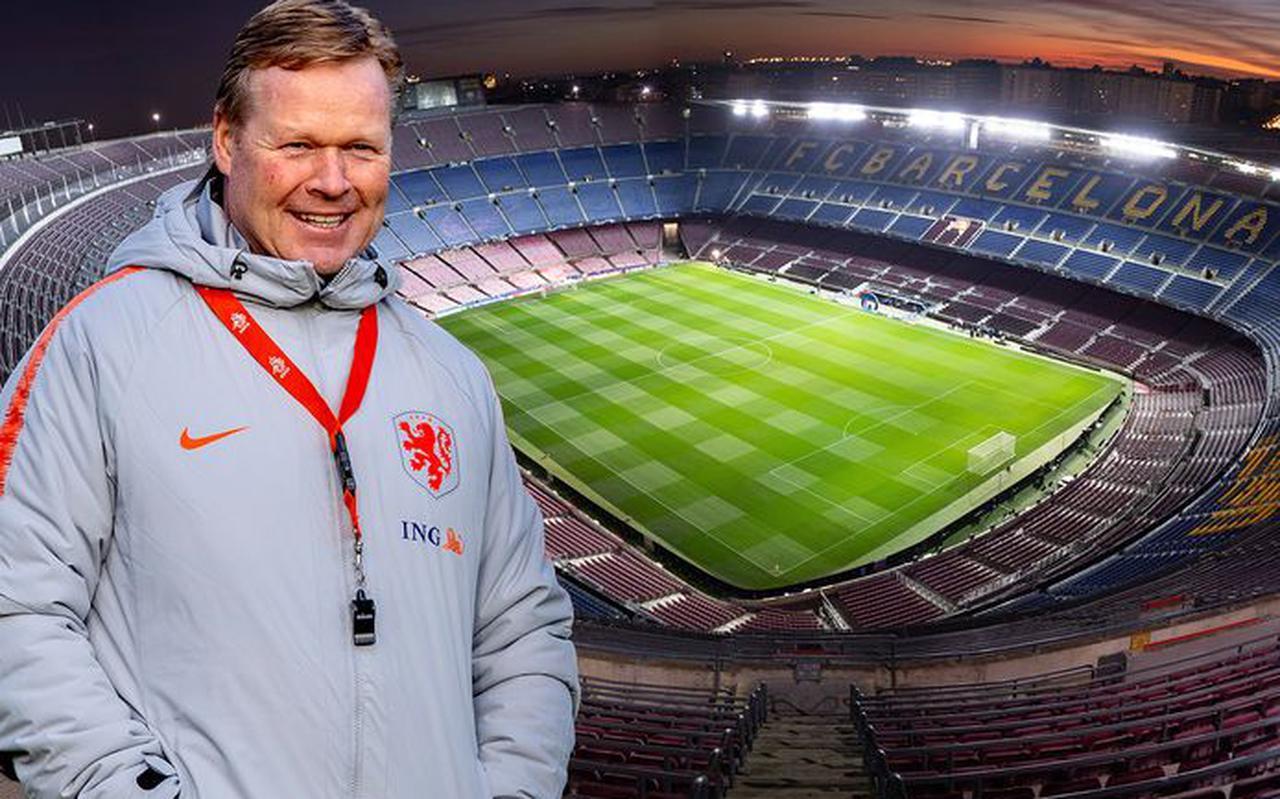 Volgende halte voor Ronald Koeman: Camp Nou. FOTO BSR AGENCY, PIM RAS