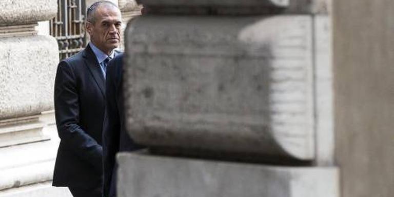 'Cottarelli komt nog niet met ministersploeg'