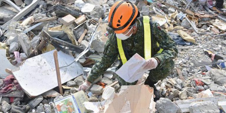 Reddingswerk Taiwan gestaakt, 116 doden