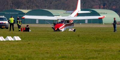Sportvliegtuig gecrasht op vliegveld Hilversum