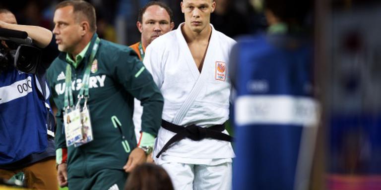 Judoka Grol uitgeschakeld
