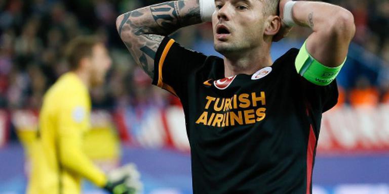 Sneijder wint Supercup met Galatasaray