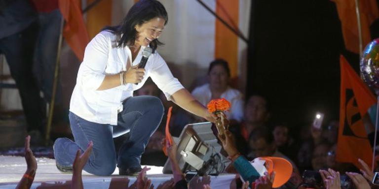Fujimori favoriet presidentsverkiezing Peru
