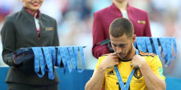 Hazard staat open voor vertrek bij Chelsea