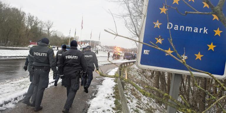 Denen blijven controleren aan Duitse grens