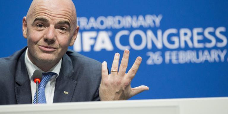 FIFA-baas Infantino ontevreden over salaris